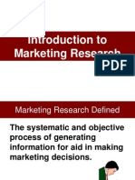 01a Introduction to Market Research