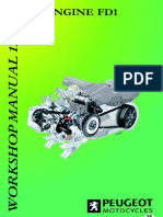 Peugeot[1].Fd1 -4t 125cc Engine Workshop Manual