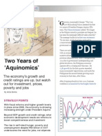 "Two Years of  ""Aquinomics"""