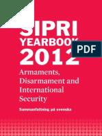 Svensk sammanfattning av 2012 SIPRIs årsbok