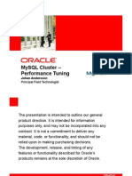 30334823 MySQL Cluster Performance Tuning Best Practices