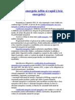Certificat Energetic Rapid si Ieftin