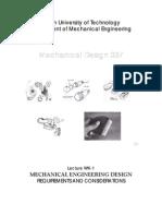 Mechanical Design Basics