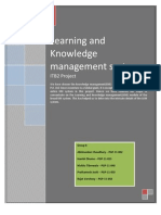 Learning Knowledge Management
