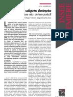 Quatre nouvelles catégories d'entreprise_Insee Premiere_nov2010