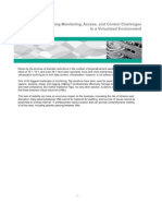 White Paper - Net Optics - Addressing Monitoring Access and Control Challenges in a Virtualized Environment