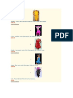 Dance Sports Costumes