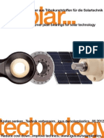 Lubrication- free polymer bearings for solar industry