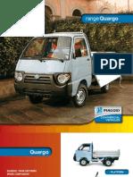 Úžitkové vozidlo a automobil Piaggio anglická verzia