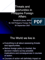5 Threats and Opportunities in Philippine Foreign Affairs