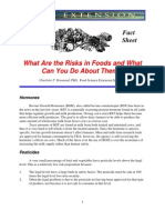 What Are the Risks in Food