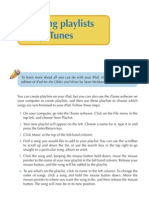 Creating Playlists Using iTunes
