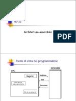 PD32 - Architettura Assembler