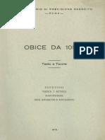 Obice 105-14 Apparecchi Puntamento 1972