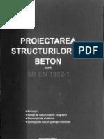 Onet Proiectarea Structurilor Din Beton SR en 1992