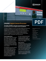 Dolby CP650dc Brochure