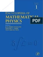 Encyclopedia of Mathematical Physics Vol.1 a-C Ed. Fran Oise Et Al