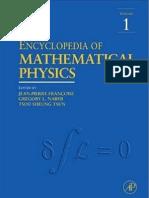 Encyclopedia of Mathematical Physics Vol.1 a-C Ed. Fran Oise Et Al