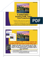 JSF2 Data Tables