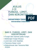 Bab II. Limit