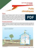Avis de l'ADEME sur les puits climatiques