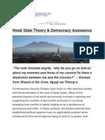 Weak State Theory