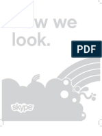 Skype Brand Book - Look