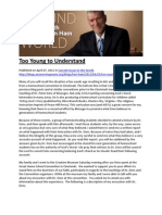 Too Young to Understand on Enns by Homeschoolers