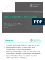 Resilience & Organizations_Bucharest