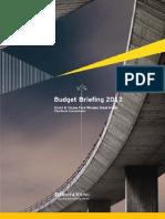 Budget Briefing 2012