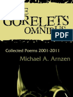 Sample horror poems from THE GORELETS OMNIBUS by Michael A. Arnzen