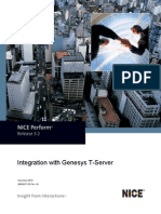 Integration With Genesys T-Server - NP - 3.2