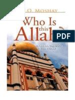 Siapakah Allah Yg Disembah Muslim?