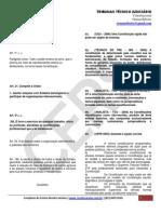 392 2011-06-20 Tecnico Judiciario de Tribunais Constitucional 062011 Tribunais Tecnico Orman Material Completo