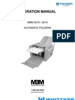 307A AutoFolder User Manual