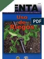 2003. CENTA. Guía Técnica Uso de Riegos