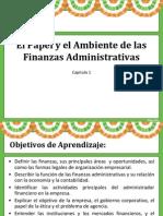 Capitulo 1 Papel y Entorno de La Admon. Financiera