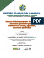 2006. IICA. Manual de Análisis de Suelos y Folirares para la Nutición de Limón, Aguacate, Cocotero y Marañon