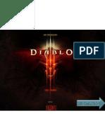 Diablo 3 Keyboard Controls