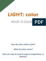 LIGHT Color Presentation
