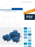 WEG w21 Three Phase Motor Indian Market 013 Brochure English