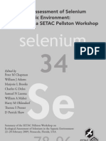 Assessment of Selenium in Aquatic Environment