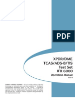 Aeroflex IFR6000 Test Set Operations Manual 6093
