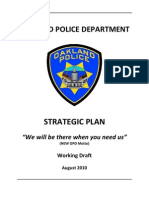 Oakland Police Strategic Plan