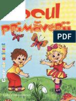 Jocul primaverii - carte de colorat