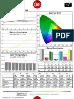 Samsung UN55ES8000 CNET review calibration results