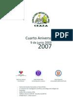 CEAZA 2003-2007 Cuarto Aniversario