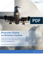 Domestic Action on Aviation Carbon