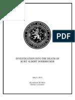 Investigation into Doerbecker death