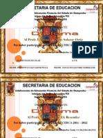 Diploma Ignacio Allende